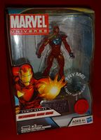 Marvel Universe: Exclusive Comic Series with Light-Up Base Extremis Iron Man